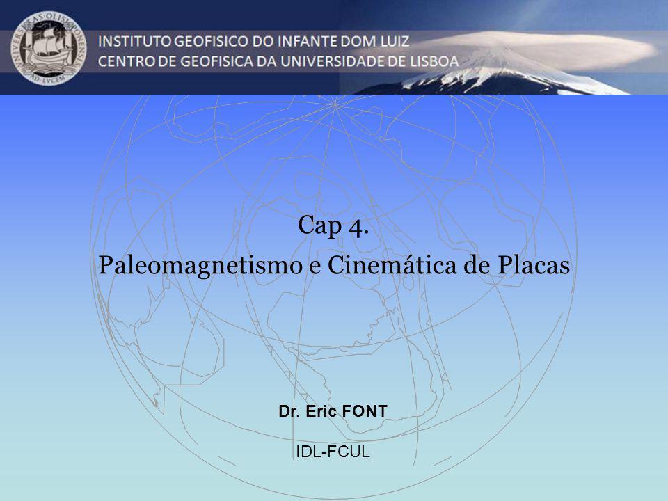 Paleomagnetismo e Cinemática de Placas