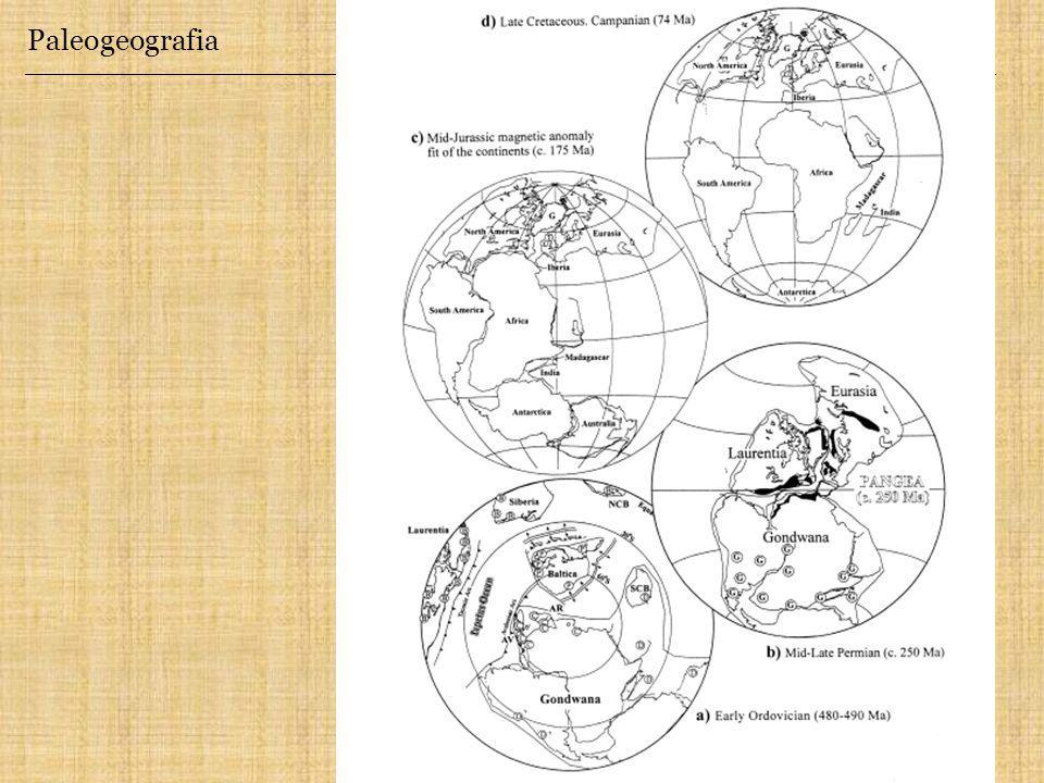 Paleogeografia Butler, 2002.