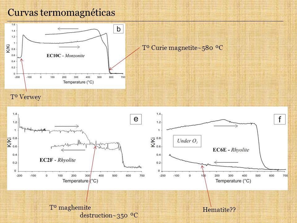 Curvas termomagnéticas