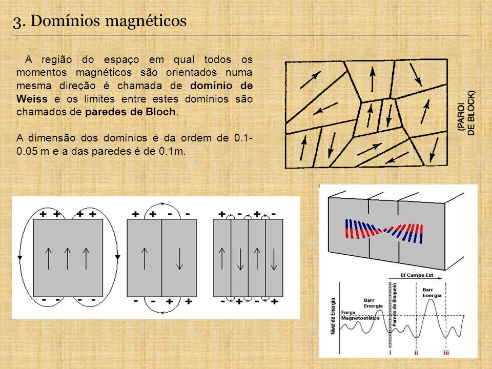 3. Domínios magnéticos