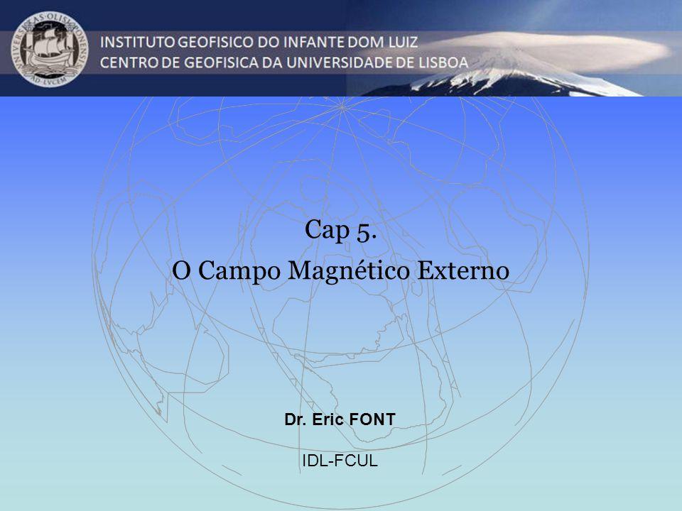 O Campo Magnético Externo