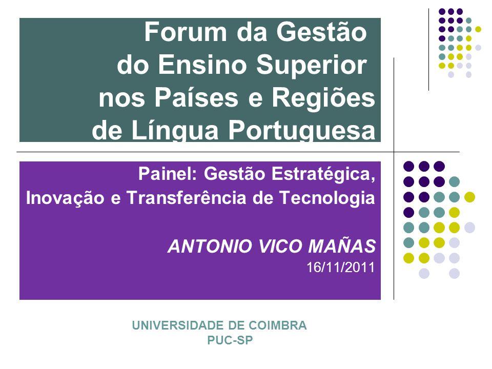 Forum da Gestão do Ensino Superior nos Países e Regiões