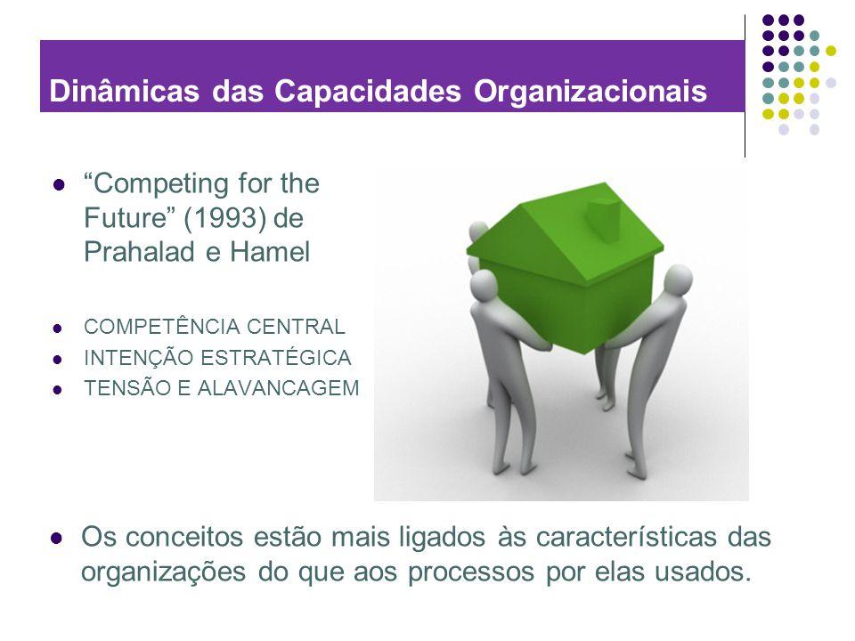 Dinâmicas das Capacidades Organizacionais