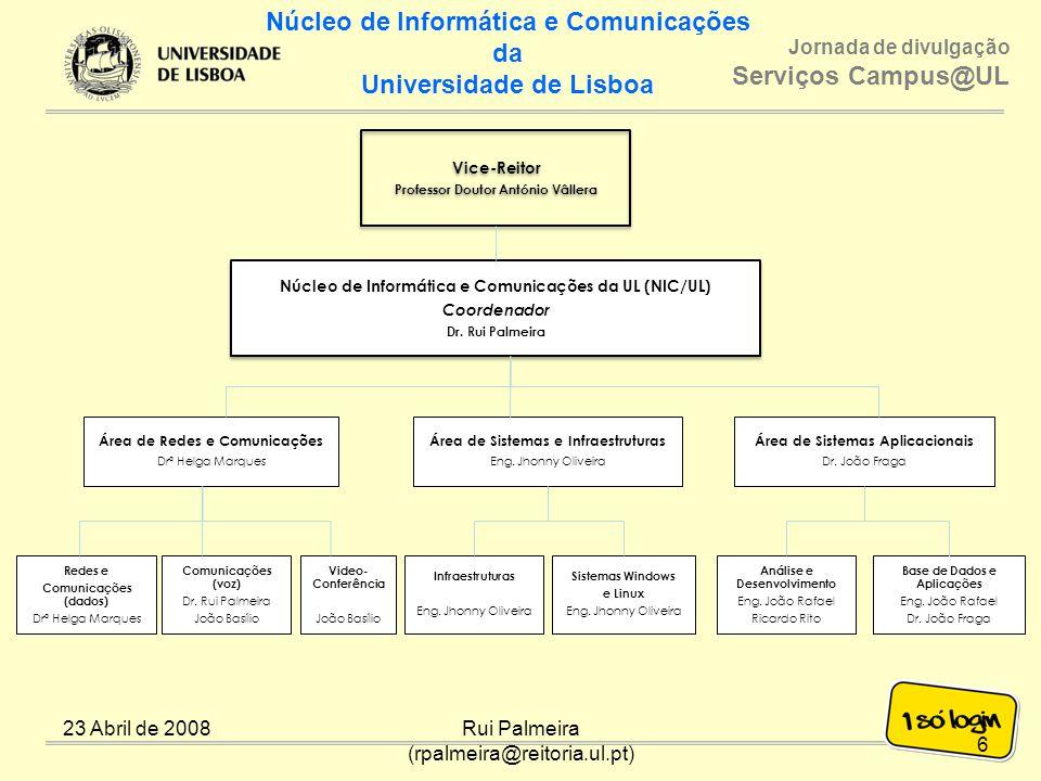 Núcleo de Informática e Comunicações da Universidade de Lisboa