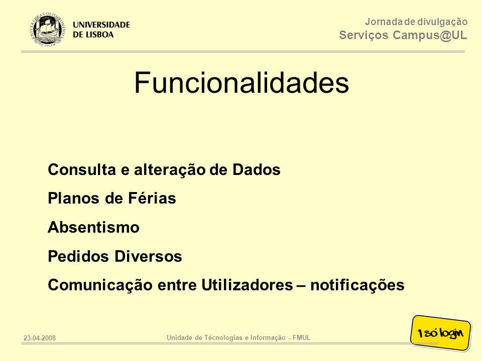 Unidade de Técnologias e Informação - FMUL