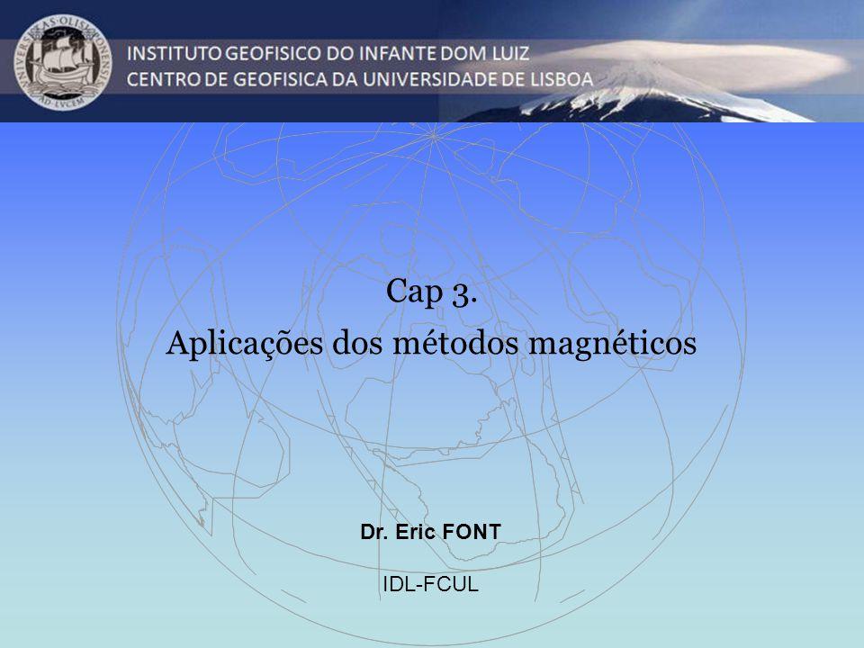 Aplicações dos métodos magnéticos