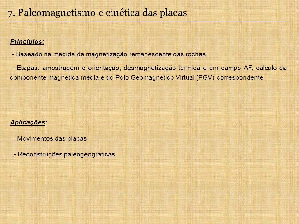 7. Paleomagnetismo e cinética das placas
