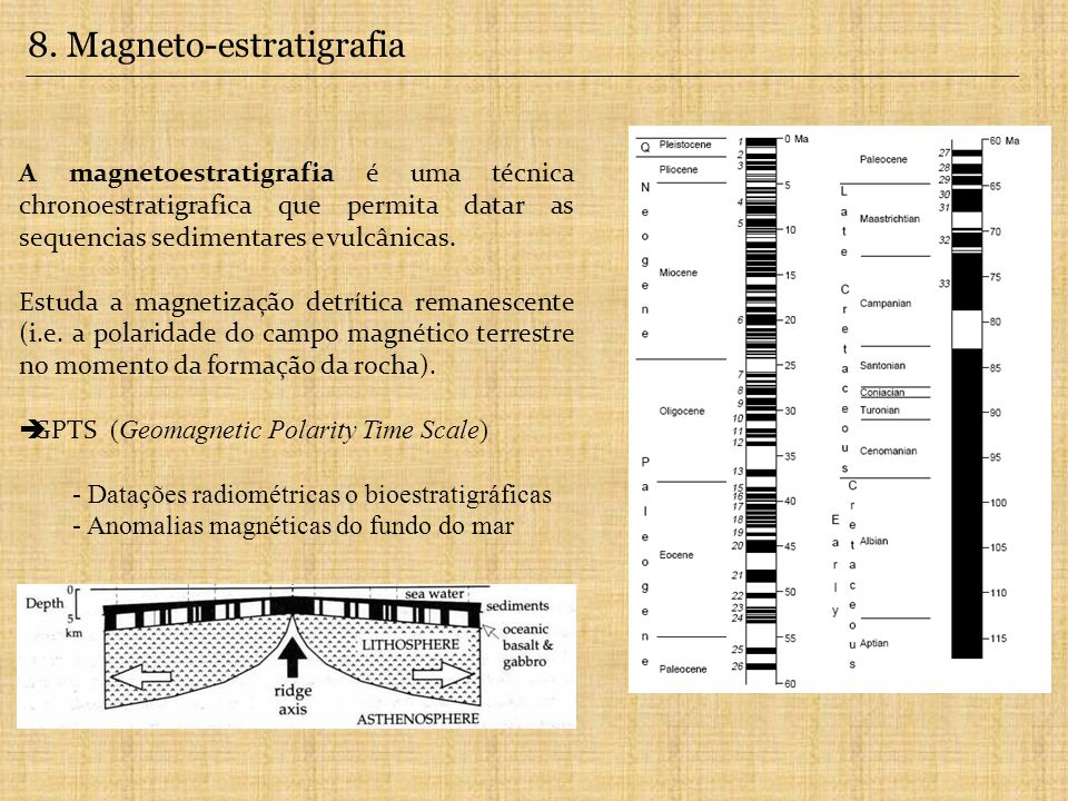8. Magneto-estratigrafia