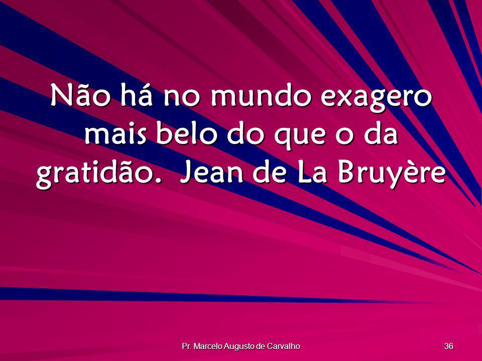 Pr. Marcelo Augusto de Carvalho