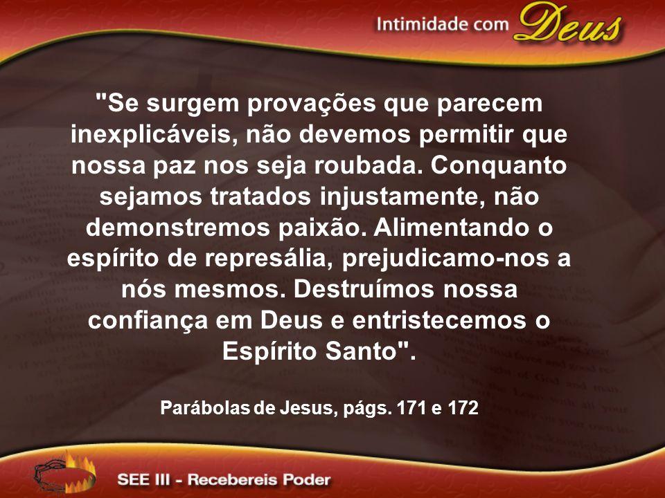 Parábolas de Jesus, págs. 171 e 172