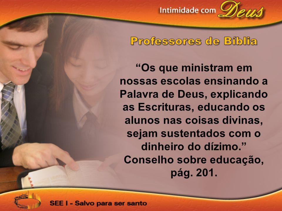 Professores de Bíblia
