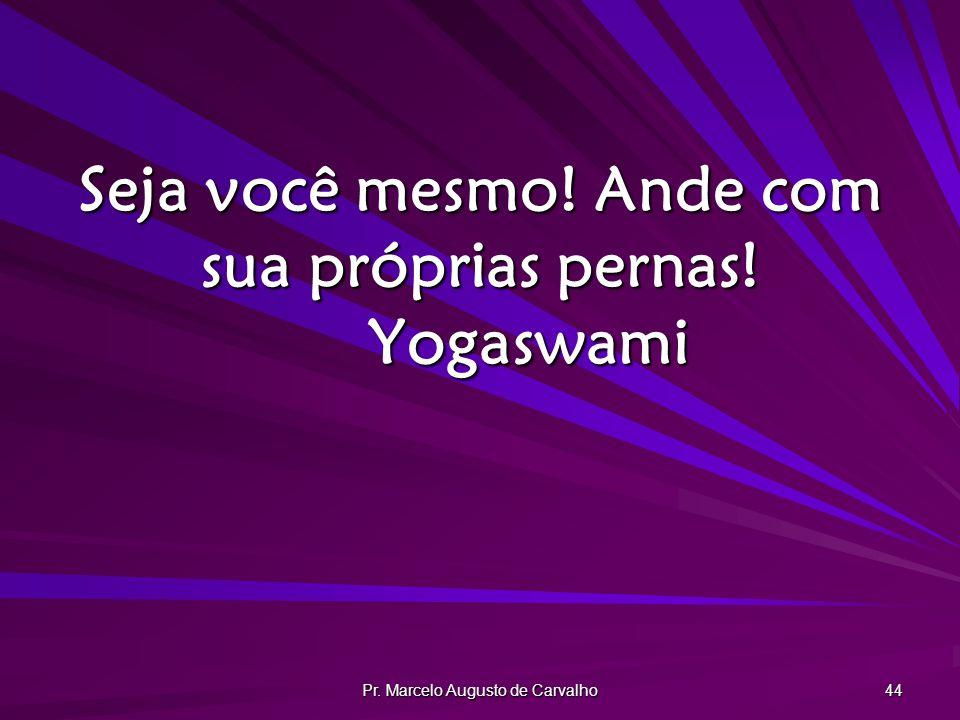 Seja você mesmo! Ande com sua próprias pernas! Yogaswami