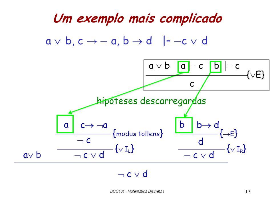 Um exemplo mais complicado