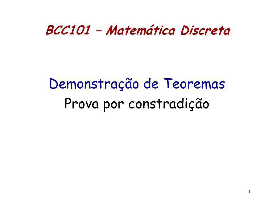 BCC101 – Matemática Discreta