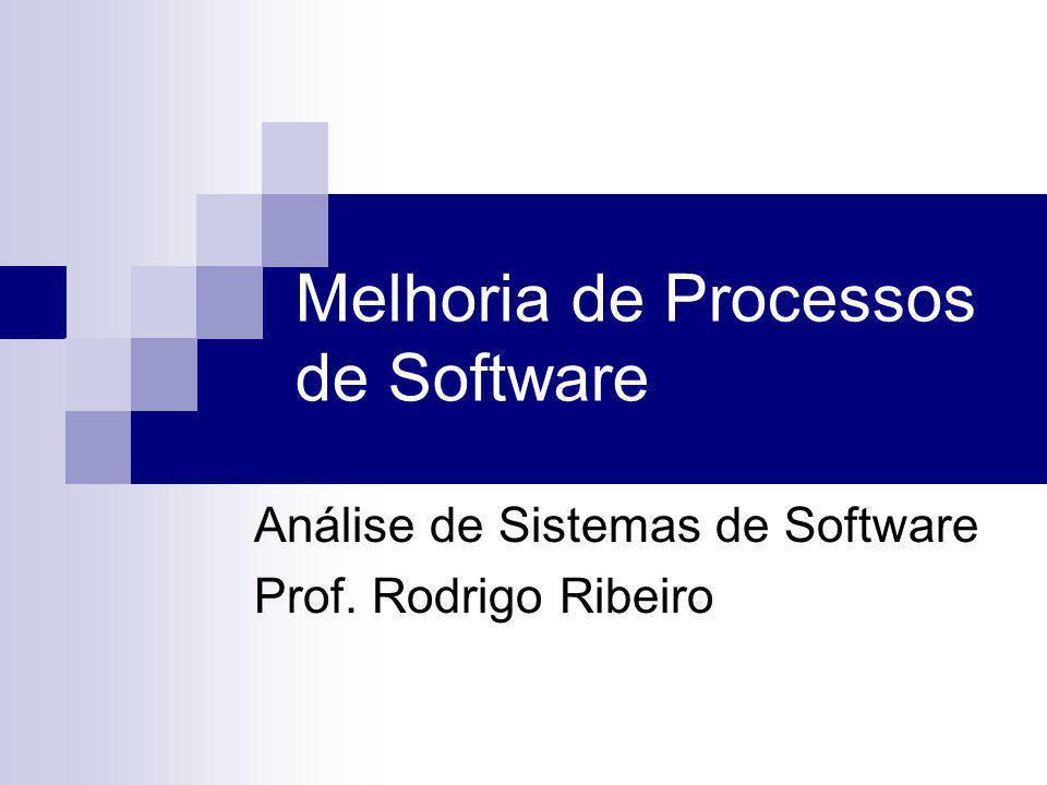 Melhoria de Processos de Software