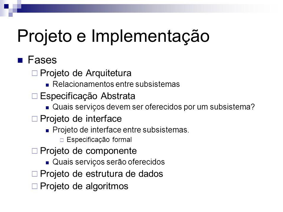 Projeto e Implementação