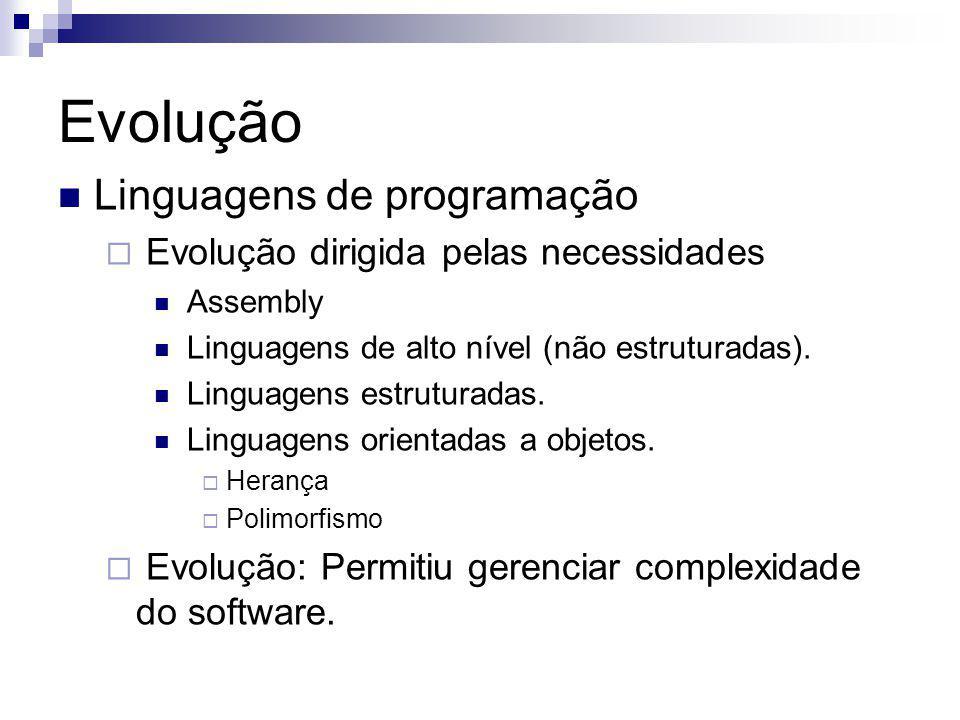 Evolução Linguagens de programação