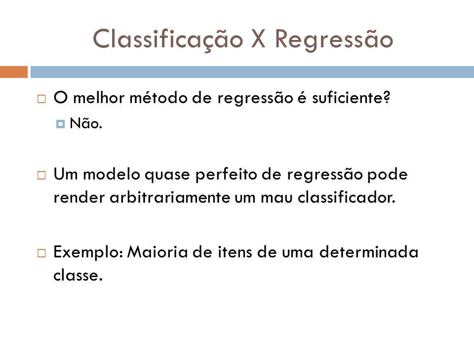 Classificação X Regressão