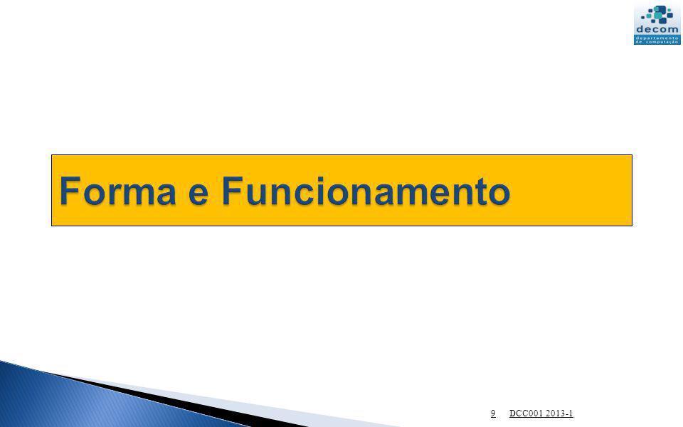 Forma e Funcionamento DCC001 2013-1