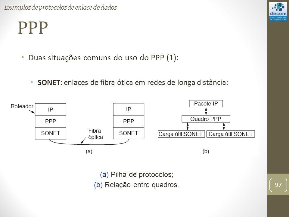 PPP Duas situações comuns do uso do PPP (1):