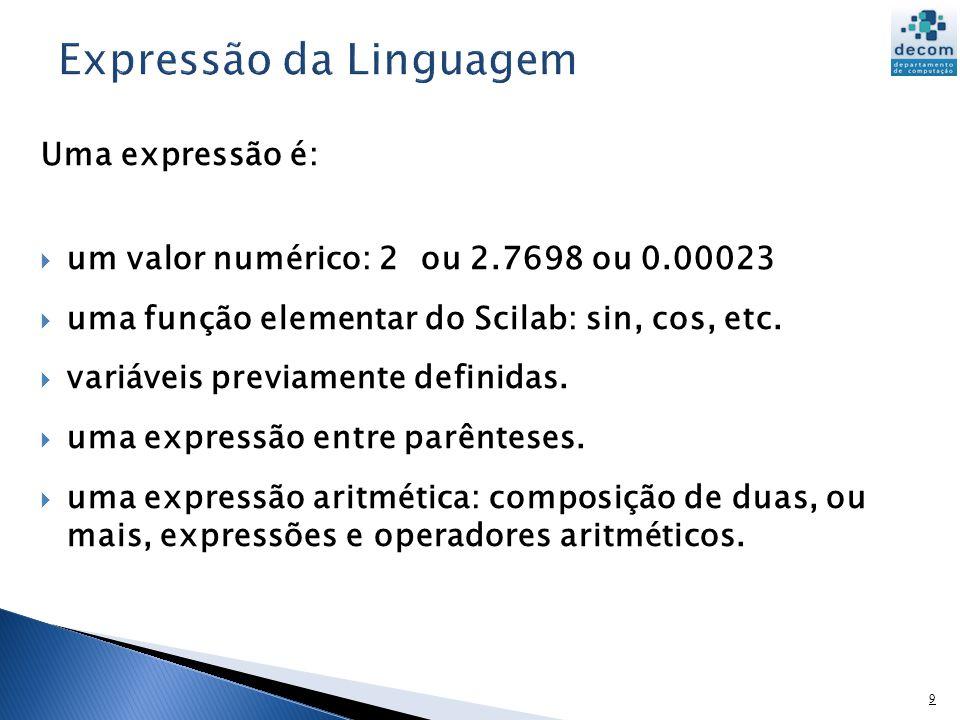 Expressão da Linguagem