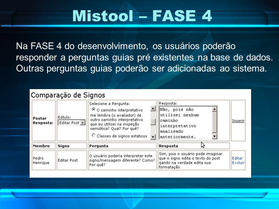 Mistool – FASE 4