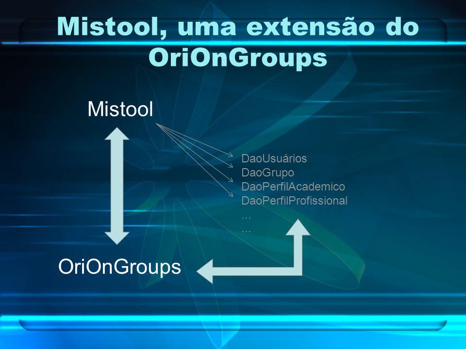Mistool, uma extensão do OriOnGroups