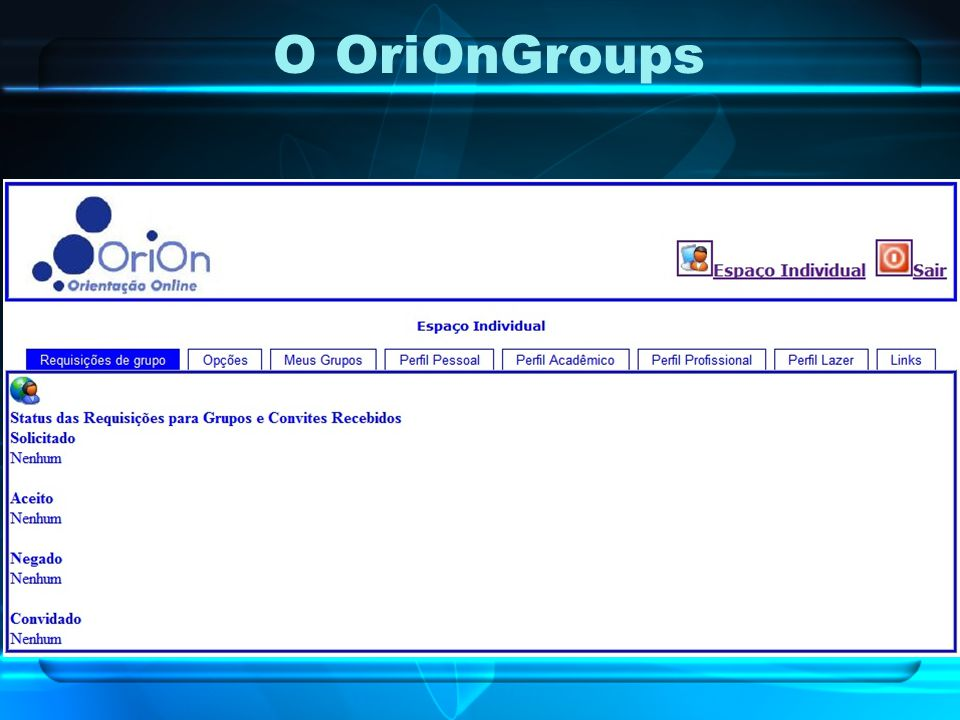 O OriOnGroups