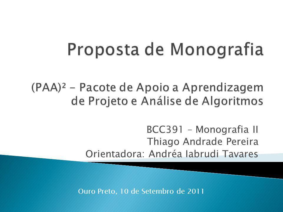 Ouro Preto, 10 de Setembro de 2011