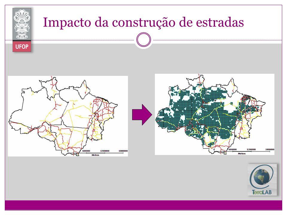 Impacto da construção de estradas