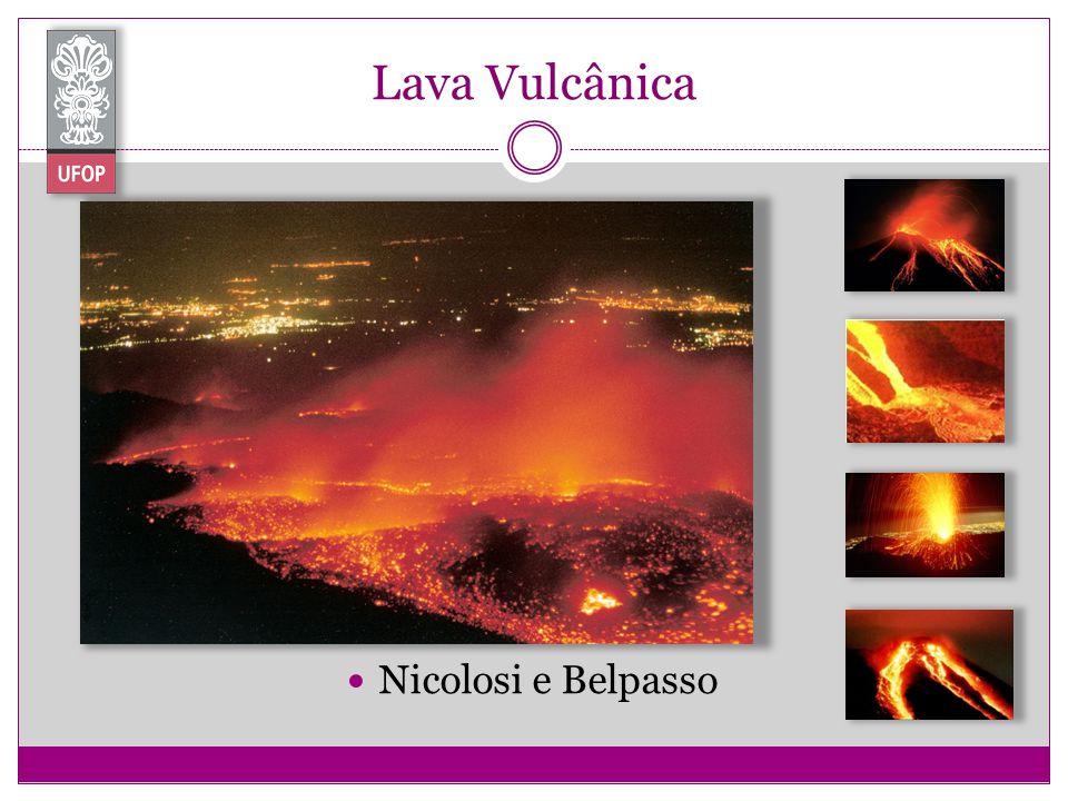 Lava Vulcânica Nicolosi e Belpasso