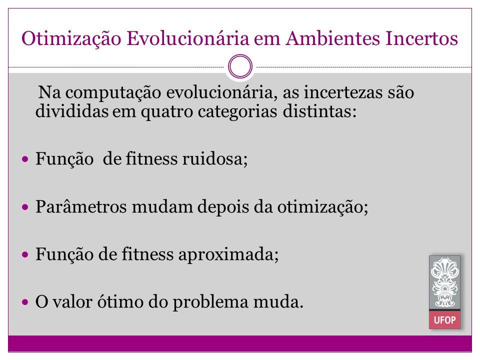 Otimização Evolucionária em Ambientes Incertos