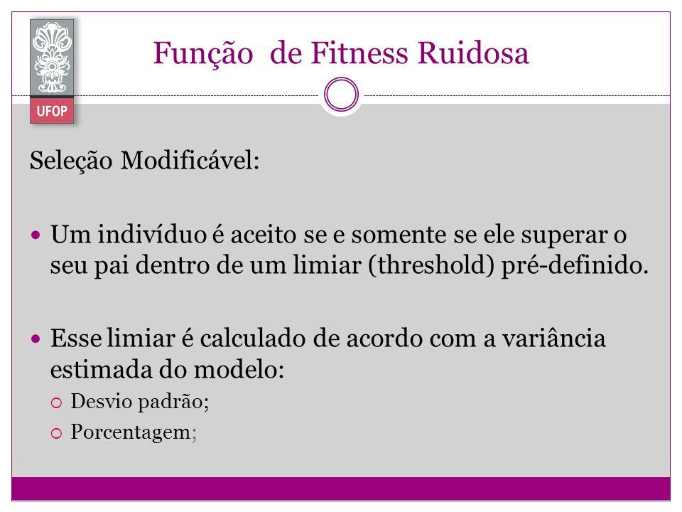 Função de Fitness Ruidosa