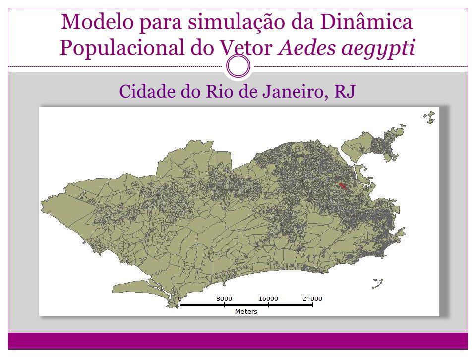 Modelo para simulação da Dinâmica Populacional do Vetor Aedes aegypti