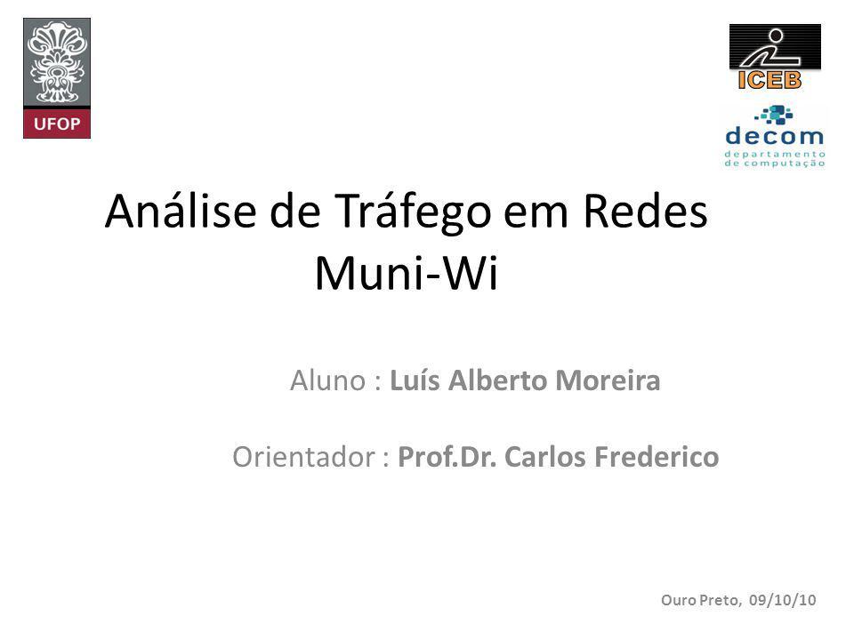 Análise de Tráfego em Redes Muni-Wi