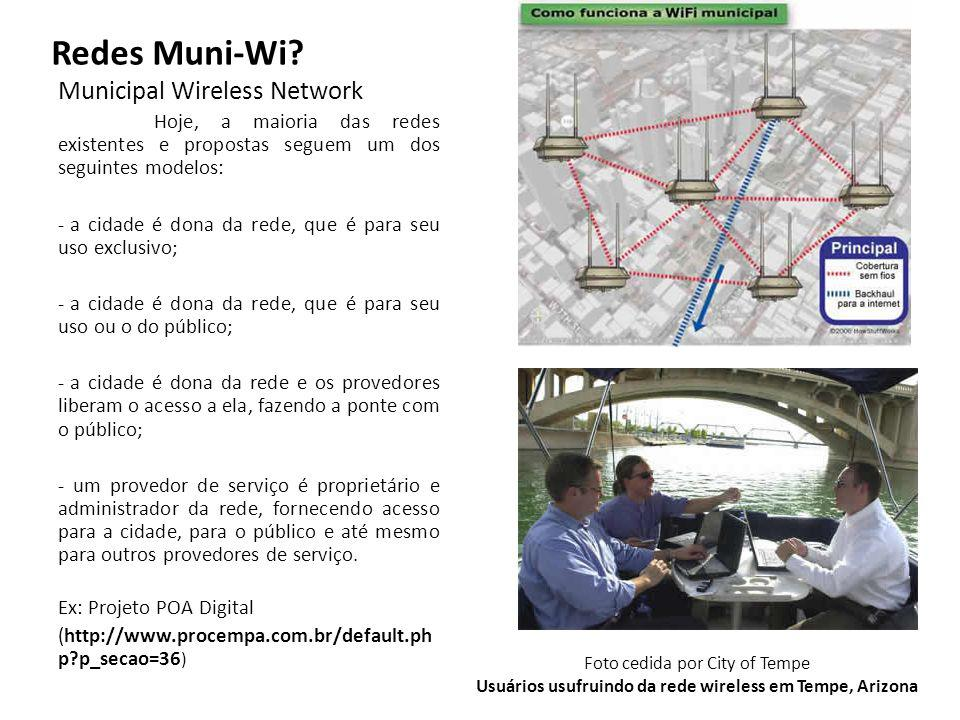 Redes Muni-Wi Municipal Wireless Network