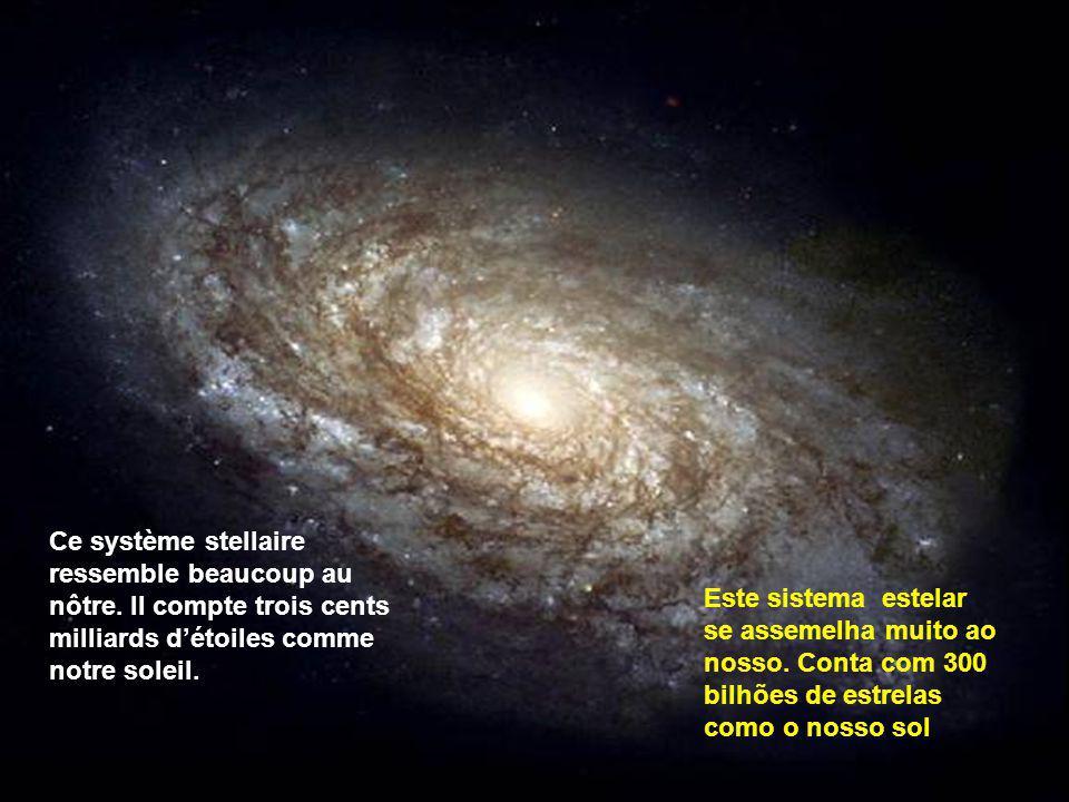 Ce système stellaire ressemble beaucoup au nôtre