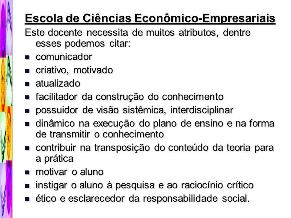 Escola de Ciências Econômico-Empresariais