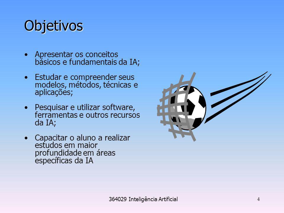 364029 Inteligência Artificial