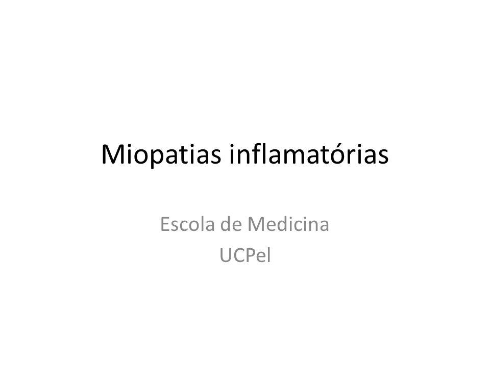Miopatias inflamatórias