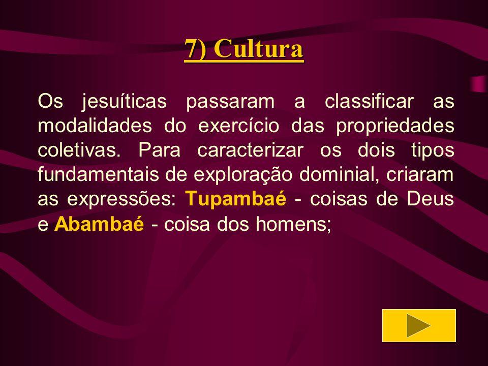 7) Cultura