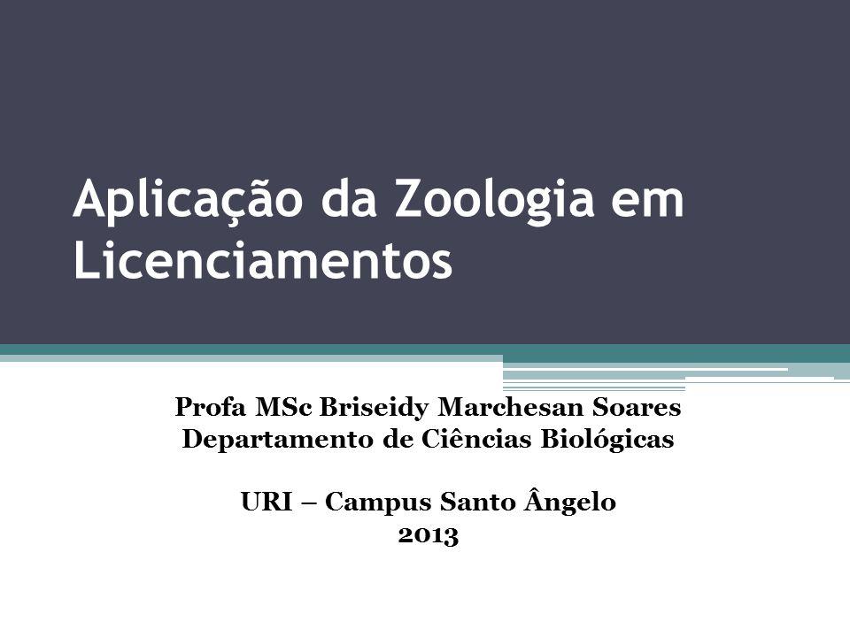 Aplicação da Zoologia em Licenciamentos