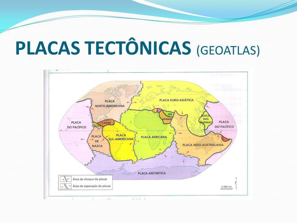 PLACAS TECTÔNICAS (GEOATLAS)