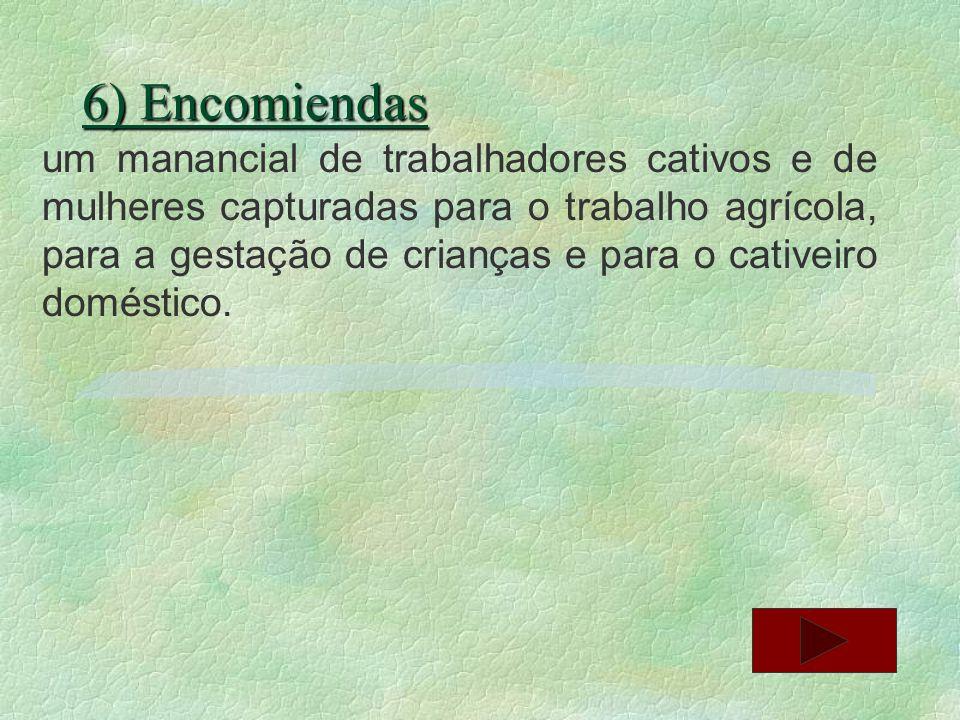 6) Encomiendas