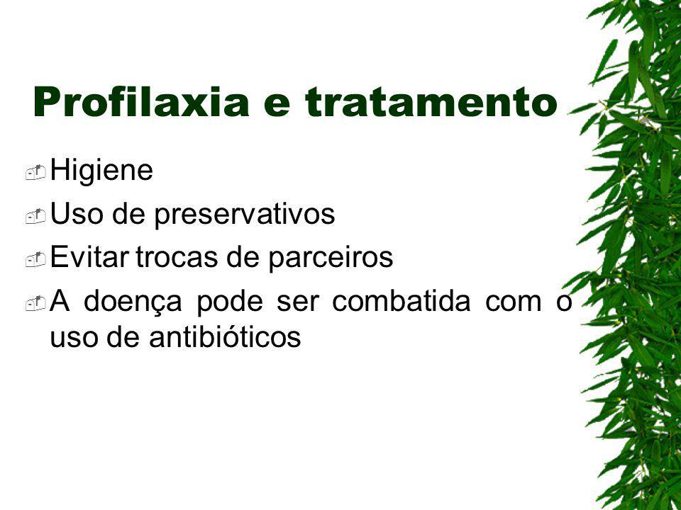 Profilaxia e tratamento