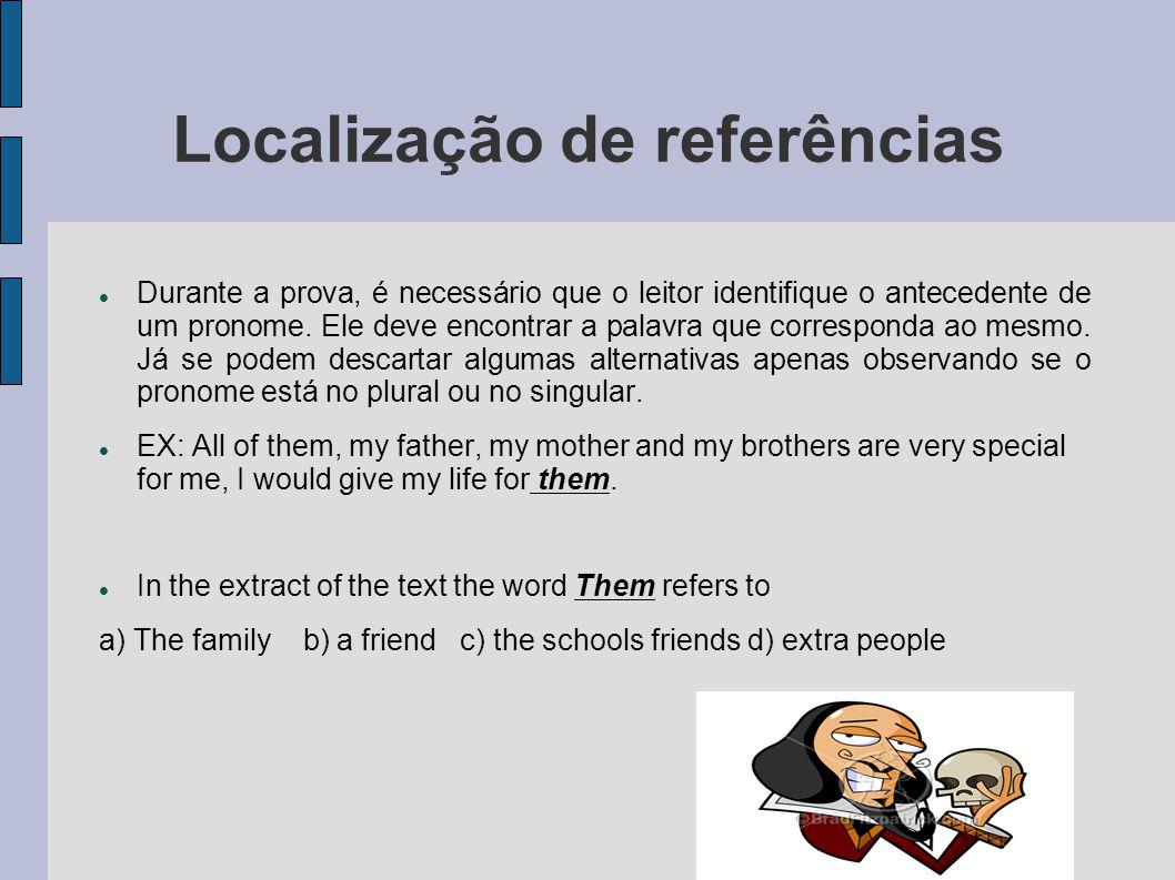 Localização de referências