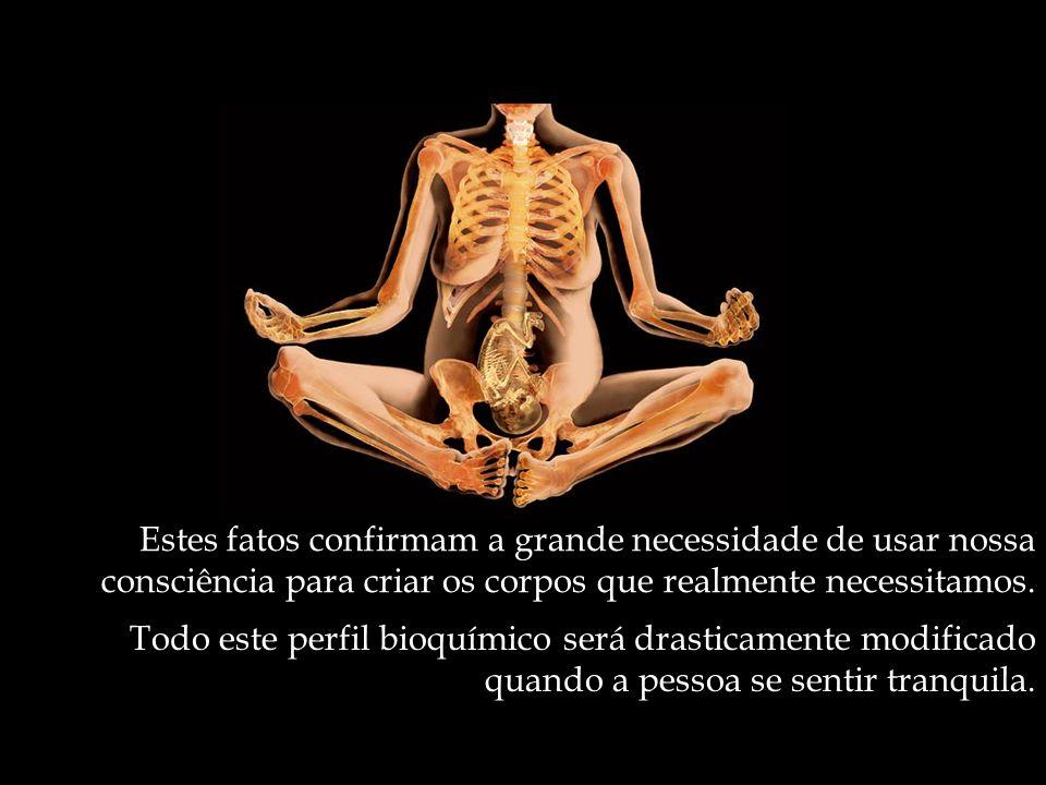 Estes fatos confirmam a grande necessidade de usar nossa consciência para criar os corpos que realmente necessitamos.