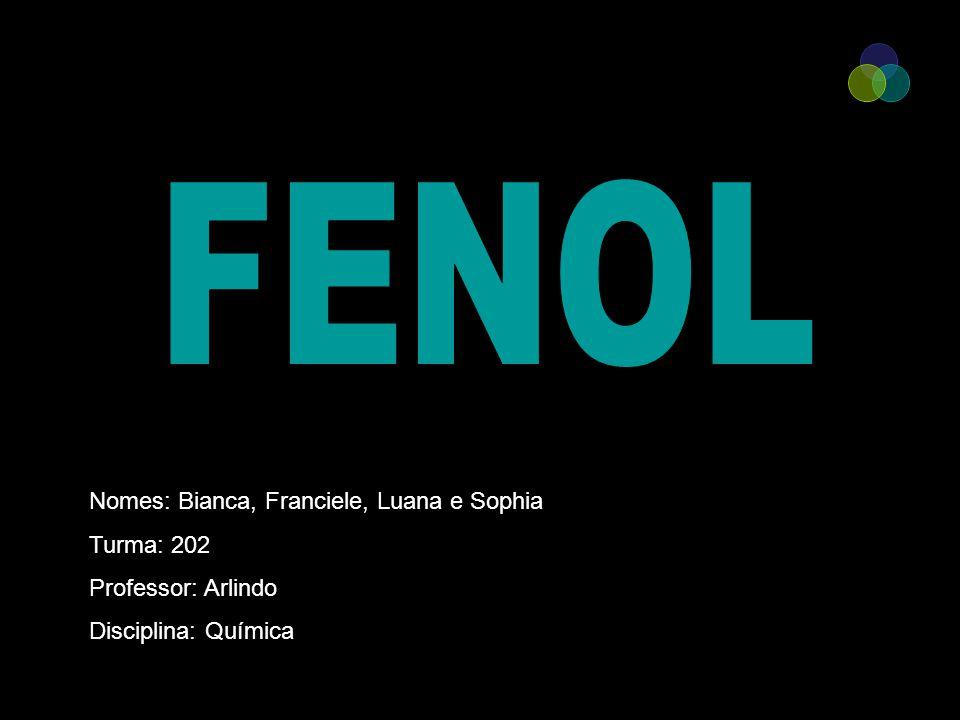 FENOL Nomes: Bianca, Franciele, Luana e Sophia Turma: 202