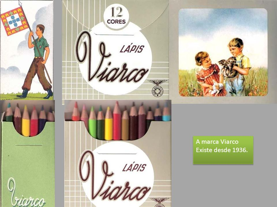 A marca Viarco Existe desde 1936.