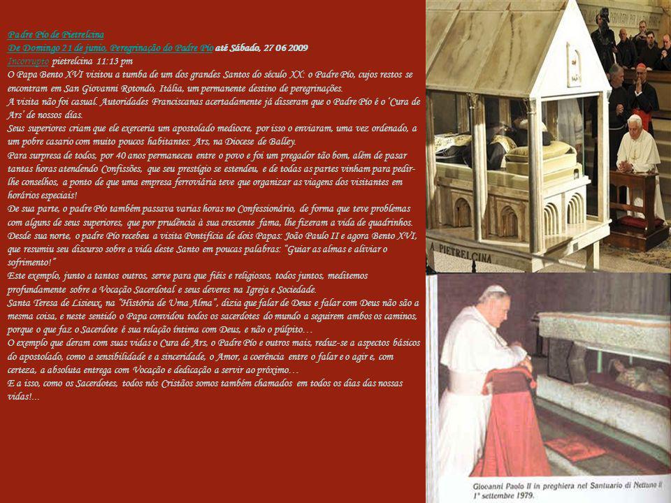 Padre Pío de Pietrelcina